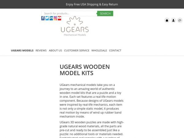 ugearsmodels.us