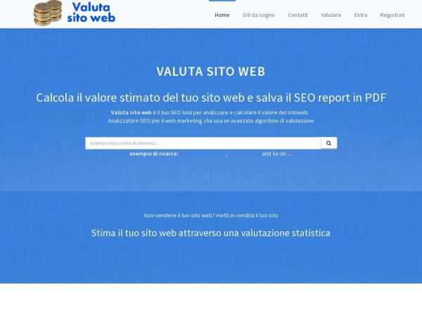 valutasitoweb.it